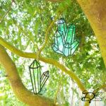 ♥ Crystal Sun Catchers DIY